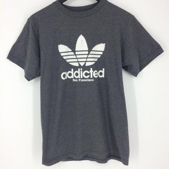 Adidas Addicted San Francisco Gray T-Shirt